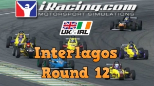 iRacing UK&I Skip Barber Round 12 from Interlagos - Great close racing