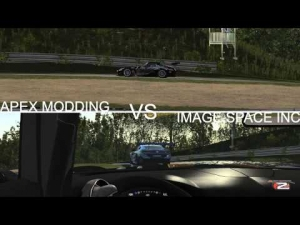 rFactor 2: APEX modding vs ISI