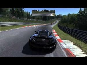 Assetto Corsa McLaren P1 spin