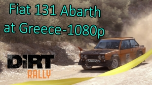 Dirt Rally | Fiat 131 Abarth at Greece