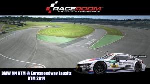 BMW M4 DTM @ Eurospeedway Lausitz - DTM 2014 - RaceRoom Racing Experience