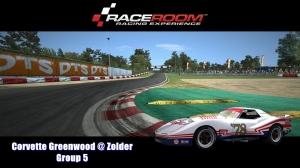 Corvette Greenwood @ Zolder - Group 5 - RaceRoom Racing Experience