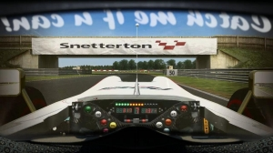 Snetterton - Formula Reiza Helmet Effect - Game Stock Car Extreme