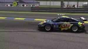 SCE • Porsche 997 vs  Ferrari 458 @ LeMans • ESL