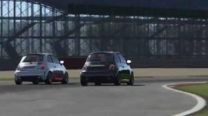 AC • FIAT Abarth 500 SS @ Silverstone Nat. • EL
