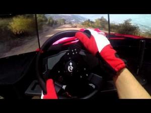 DiRT Rally  - BMW E30 M3 - Greece Rally - Triple Screen Onboard