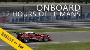 12 Hours of Le Mans | PSRL WEC 2014 | Balazs Toldi OnBoard | Daylight runs