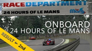 24 Hours of Le Mans | RaceDepartment | Hell Racing Team P2 | Night OnBoard