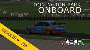 VSR ETCC 2015 | Donington Park R2 | Balazs Toldi OnBoard