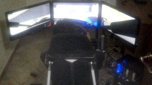 MOTION SIMULATOR 2 DOF BY GAEVULK-X-SIM PITCH FORCE TEST
