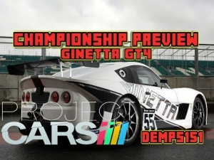Project Cars: Ginetta GT4 championship preview