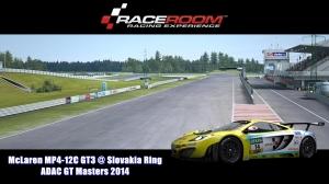 McLaren MP4 12C GT3 @ Slovakia Ring - ADAC GT Masters 2014 - RaceRoom Racing Experience
