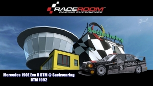Mercedes 190E Evo II DTM @ Sachsenring - DTM 1992 - RaceRoom Racing Experience