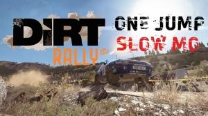 DiRT Rally - Impreza jump Slow Mo