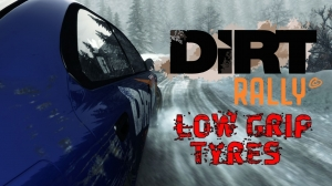 DiRT Rally - Low Grip Tyres in Rally Monte-Carlo