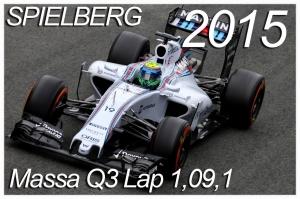 F1 - Mass Q3 lap 1,09,1 @Spielberg AC