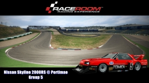 Nissan Skyline 2000RS @ Portimao - Group 5 - RaceRoom Racing Experience