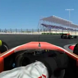 rFactor 2:  Bahrain - FR 3.5 (Online, Battle for 2th Place)