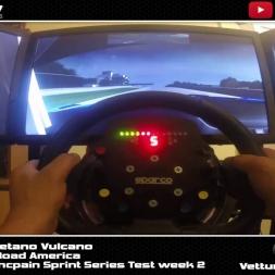 GoPro Hero 3+  Iracing Blancpain Sprint Series s3 week 2 test Road America