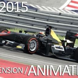 GP2 2015 Suspension Animations /