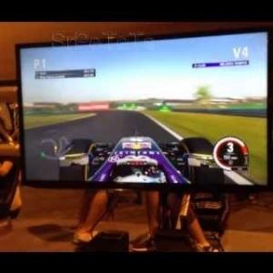 F1 2015 Gameplay | Evento Madrid | Thrustmaster T500 (F1 PS4 XONE PC)