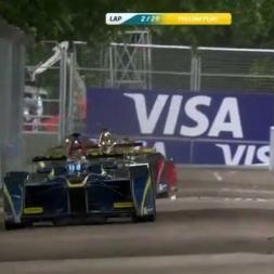 Visa London ePrix race 1 highlights
