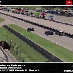 IRACING BSS S3 2015 week 2 Road America superstart and crash! 2 laps