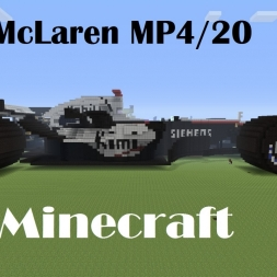 Minecraft F1 car: McLaren MP4/20
