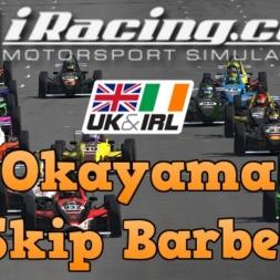 iRacing UK&I Skip Barber Round 2 at Okayama
