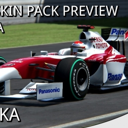 FW31 2009 SKIN PACK | TOYOTA - ASSETTO CORSA ULTRA