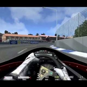 Lotus 98T At The 1988 Adelaide GP Circuit