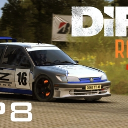 DiRT Rally Gameplay: Tarmac Terrors (Germany!)  - Episode 8