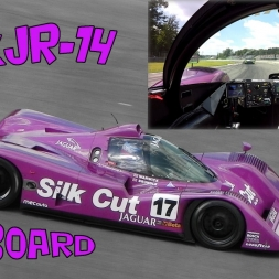 Jaguar XJR-14 Group C On Board at Monza Circuit - GoPro Hero 4 Black 1080p 60fps