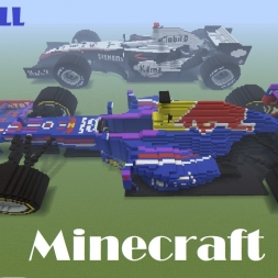Red Bull RB9 MINECRAFTED!
