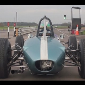 Vintage Racing in a 1963 Brabham BT6