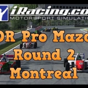 iRacing AOR Pro Mazda Championship S3 Round 2: Montreal
