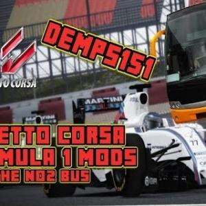 Assetto Corsa, Formula 1 2015 Mods And Bus fun