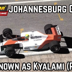 Game Stock Car Extreme :: F1 1988 Mod :: New Johannesburg track (Kyalami pre 1988)