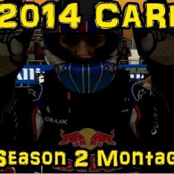 F1 2014 Career - Season 2 Montage
