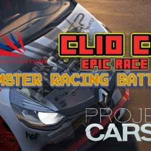 Project Cars: Clio Cup Epic Race #6, Hamster Battle