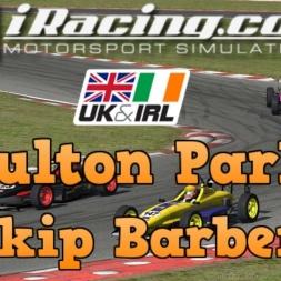 iRacing UK&I Skip Barber Round 3 at Oulton Park