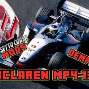 Assetto Corsa Mclaren MP4-13 Mod: Demps151