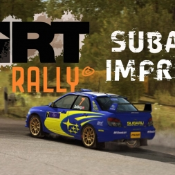 DiRT Rally - Impreza N12 in Rally Germany