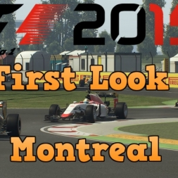 F1 2015 First look Quick Race at Montreal (PC)