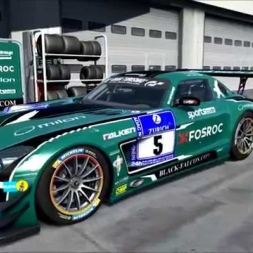 AMG SLS GT3 Black Falcon #5 2015 preview