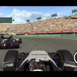 F1 2015 - Mexico - Perez (Onboard)
