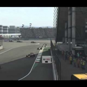 F1 2015 - Mexico - Perez (TV replay)