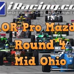 iRacing AOR Pro Mazda Championship S3 Round 4: Mid Ohio