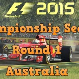 F1 2015 Championship Season Round 1 - Australia