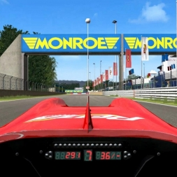 Zolder - Formula Reiza Driver's View - Game Stock Car Extreme